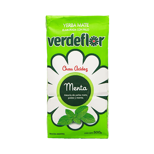 Verdeflor Menta - herbal yerba mate tea